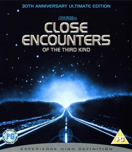 Close Encounters of the Third Kind  -  Front Blu-ray Cover (UK)