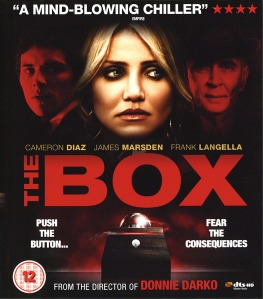 The Box  -  Front Blu-ray Cover (UK)