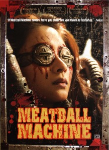 Meatball Machine  -  Front DVD Cover  -  US Release